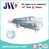 baby diaper and adult diaper nappies making machine price