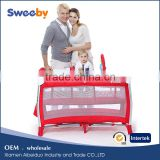 Royal portable baby playard/cot, swing for mattress