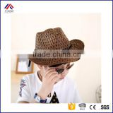 Children Kid's Jazz Bull Rider Cowgirl Western Travel Straw Sun Cowboy Hat