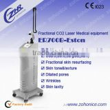 Wart Removal ER700B Professional Co2 Fractional Laser Machine For Stretch Mark Removal Professional