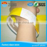 Party Favor Event RFID smart one time used PVC bracelet disposable paper wristband
