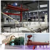 300000M3/year autoclaved aerated concrete panel production line