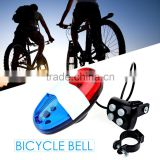 Super Loud Police Style For Mountain Road Bike Horn Accessories 6 LED Light 4 Sounds Trumpet Electronic Horns Bell Siren