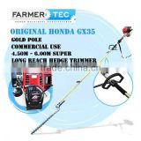 4 Stroke Gasolin Hedge Trimmer 35cc Honda GX35 Engine