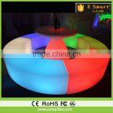 Stand up bar tables/led light up furniture/bar height table