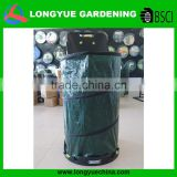 Eco-friendly Plastic Rolling Garden Leaf Bag Cart