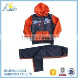 W91477A 2016 New Style Autumn Children Clothing Sets Kids Boys Hoodie Sports Wear Wholesale Clothing