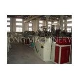 Twin Screw Wood Plastic Profile Extrusion Equipment / Profile Making Machinery 60mm - 300mm