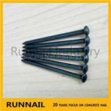 Blue Concrete Steel Nails With Round Head, Smooth Shank, Diamond Point, Quick Delivry, Box Packing, Near To Port,Best Partner