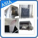 Industrial Used Car Spray Booth for sale, Cabinet Furniture Car Spray Tent