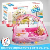 Travel cot blanket folding multifunctional musical baby playpen bed