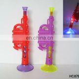Flashlight musical plastic trumpet