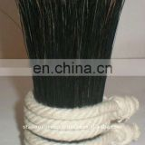 Black Boiled Bristles Brush