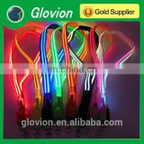 New Design fashionable double optical fiber LED lanyard