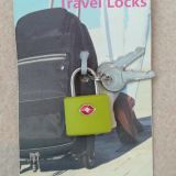 Travel lock with key