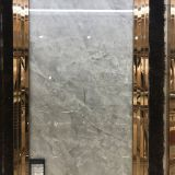 24x48in Marble Like Grey Unglazed Porcelain Tile