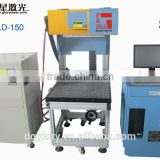 Glorystar laser big marking area 3D dynamic focus jeans denim co2 laser marking machine manufacturer