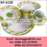 20pcs Round Shape Professional Porcelain HD Design Dinnerware for Tableware