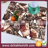 Wholesale Price Custom Printed Disposable Plastic placemat