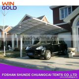 Professional customized car parking shade used metal carports sale with factory price