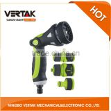 Professional teams hot selling 4pcs 8 pattern spray gun set green+gray