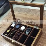 Watch Box Solid wood Zakka Primary colors wooden box Wood Boxes & Cases Material acrylic