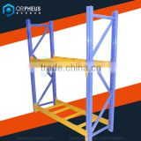 Building factory raw material warehouse storage rack metal store shelves/shelf heavy duty entrepot Pallet Rack