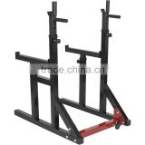 barbell exercise Squat Rack with dip handle