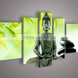 Bright Skilled Artist Hand-painted High Quality Buddha Oil Painting On Canvas India Buddhism Oil Painting For Wall Decor