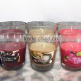 Home Fragrance Glass Cup Candle,Walmart Vendor, 10 Years Experience of Candle Production