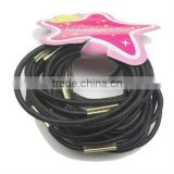 fashion card elastic 15cm hairband with metal