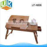 foldable bamboo notebook desk
