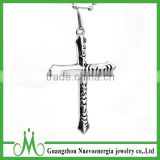 Fashion stainless steel jewelry men popular stainless steel cross necklace                                                                                                         Supplier's Choice