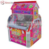 Sinoarcade Sweet Frenzy Snacks Coin Operated Candy Digger Crane Amusement Arcade Game Machine