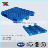 HDPE Recyclable Nest Surface 4 way Forklift 3-Skids Steel PP Plastic Pallet /                                                                         Quality Choice