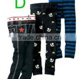 Cartoon Sailor Prints Baby Pants PP Warmer Kids Leggings Pants Toddler Tights