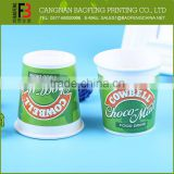 Custom Made Private Label Different Size Yogurt Cup Manufacturers
