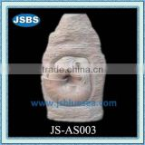 garden decoration abstract stone young nude girl statue