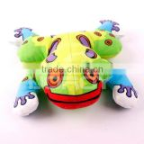pretty stuffed frog type pet toys for dog
