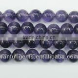 Wholesale 2-20mm polish Natural Amethyst round beads for jewelry