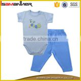 Bulk manufacture baby romper set printed wholesale clothing cheap baby                                                                                                         Supplier's Choice