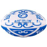 official size standard rubber rugby balls