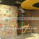 Factory Price Direct Indoor Kids Fiberglass Climbing Boulders