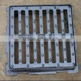 cast iron square sanitary sewer manhole cover