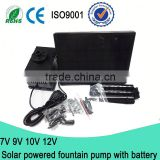 8V 2.5W Submersible Water Pump Solar / Solar Pump with Battery Backup / Solar Powered Pool Pump