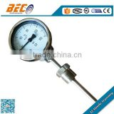 WSS series 60mm bottom type bimetal temperature thermometer