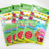 Disposable eco-friendly baby table topper placemat packs