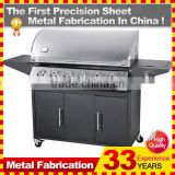 Smokeless Infrared Bbq Gas 6 Burner Grill                                                                         Quality Choice