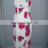 2012 fashion flower shift dress