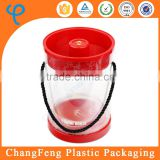 Luxury Portable Clear Plastic Popcorn Container
